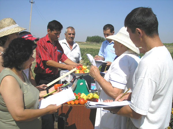 Practical training in URIVMC&P in 2006