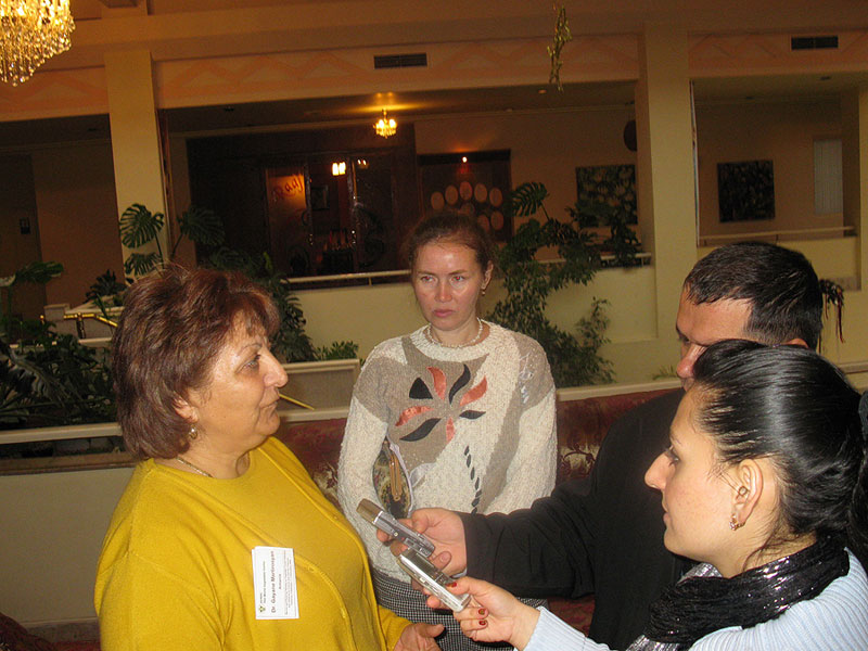 National coordinator Gayane Martirosyan gives interview on collaboration