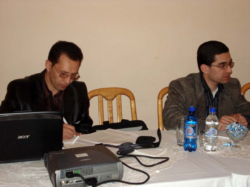 National workshop in Khujand